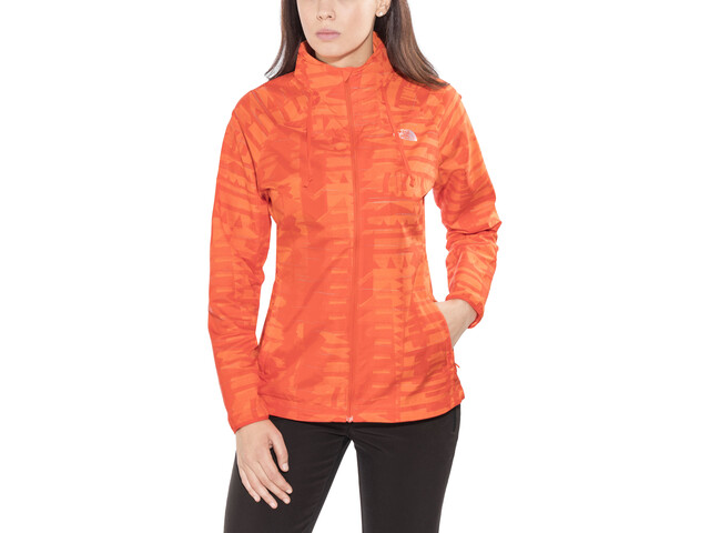The North Face Rapida Woven Windproof Jacket Dam f br red rf pr